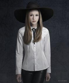 Taissa Farmiga as Zoe Benson in American Horror Story. She previously starred as Violet Harmon in season 1 of the show.