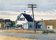 Edward Hopper, Lombard's House, 1931