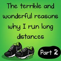 The terrible and wonderful reasons why I run long distances - Part 2 - The Oatmeal. Exchange long distances with workout and this is my life