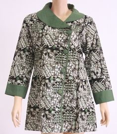 Blouse Batik, Batik Dress, Batik Fashion, Tribal Fashion, African Print Fashion, African Fashion Dresses, African Attire, African Dress, Mode Batik