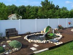 Privacy Fence, Privacy Fencing by A Vinyl Fence And Deck Wholesaler - Modern Design Vinyl Fence Panels, Privacy Fence Panels, Vinyl Railing, Garden Retaining Wall, Retaining Walls, Building A Fence, Deck Decorating, Backyard Fences, Outdoor Furniture Sets