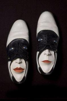 Gwen Murphy Shoe Faces