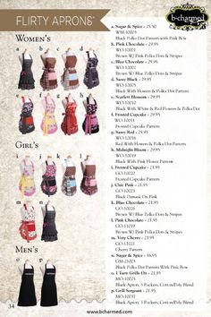 Flirty Aprons at bcharmed