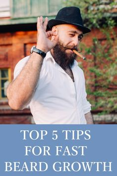 Five Fast Beard Growth Tips for an Epic Beard https://youtu.be/O3UHLlUq4_k
