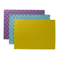 ORDENTLIG Placemat IKEA Beschermt het tafelblad en vermindert het lawaai van borden en bestek.