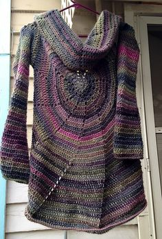 Ravelry: Project Gallery for Pinwheel Sweater pattern by Amy Depew