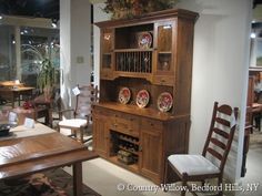 Casual Country Dining Room Buffet With Wine Storagecountry Willow Endearing Willow Dining Room Review