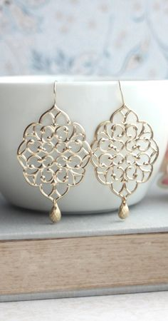 Gorgeous moroccan style earrings