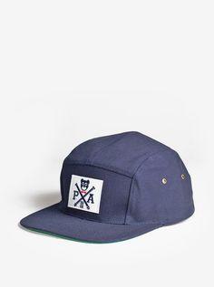 8d8622b4e9d Cross-Bear Five Panel Hat in Navy Mode Für Männer
