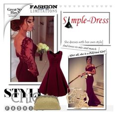 """""""Simple-dress 3"""" by almir-sahdan ❤ liked on Polyvore featuring Sergio Rossi and simpledress"""