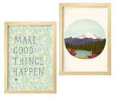 Inspiration Prints- perfect for the bathroom