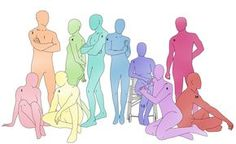 draw the squad 10 Chibi Poses, Poses Manga, Anime Poses, Drawing Base, Manga Drawing, Figure Drawing, Drawing Body Poses, Drawing Reference Poses, Design Reference