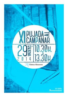Cartel para els Lluïsos Almassora por Som Agencia