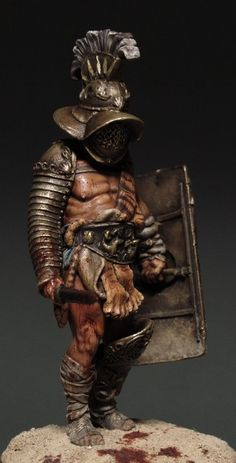 Roman Gladiator Myrmillo, Butcher Museum quality Ancient World Roman era and its heirs Gladiator Tattoo, Gladiator Armor, Ancient Rome, Ancient History, Armor Concept, Concept Art, Gladiator Characters, Roman Gladiators, Roman Warriors