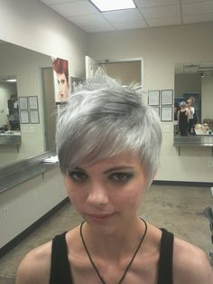 Omg! I cant believe I found a picture of exactly how I want my hair done!! Same cut and color!