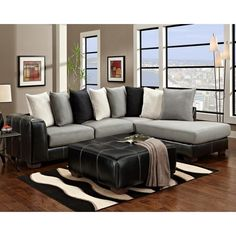 Driskell Mocha 2 Piece Sectional 5329 In The 503 Pinterest