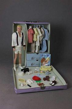 Barbie Et Ken, Ken Doll, Vintage Barbie Clothes, Vintage Dolls, 1950s Clothes, Accessoires Barbie, Barbie Family, Mattel, Barbie Accessories