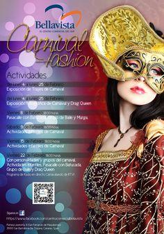 """Diseño imagen comunicación eventos de carnaval CC Bellavista. www.dequ.es  """"Trabajos Amables""""."""