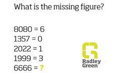 Missing number?