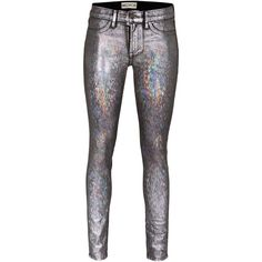 WILDFOX The Marianne Mid-Rise Skinny Windchimes Skinny jeans in... ($170) ❤ liked on Polyvore featuring jeans, pants, bottoms, mid rise skinny jeans, denim skinny jeans, faux-leather jeans, sexy jeans and skinny jeans