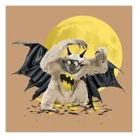 The Gibbon Who Wanted to be Batman - Brown By Carl Moore: Category: Art Currency: GBP Price: GBP250.00 Retail Price: 250.00 'The Gibbon Who…