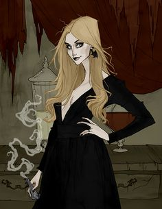 Witchsona Week 2016 by AbigailLarson on DeviantArt