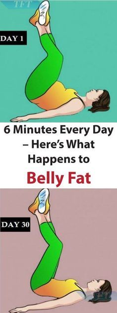 Do This For Just 6 Minutes Every Day – Here's What Happens To Belly Fat