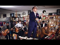 St. Paul And The Broken Bones: NPR Music Tiny Desk Concert - YouTube  LOVING his soul!