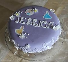 Princess cake for little girl