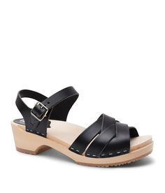 f32538b674 The witty woven detail of our Rio Grande low heel clog sandal for women  advances the
