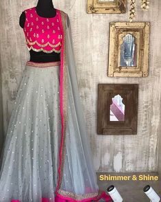 """1,645 Likes, 9 Comments - @creativecraft77 on Instagram: """"fully stitched for order price and details watsapp on +91 95-99-407247 or dm on insta!! #bluelengha…"""""""