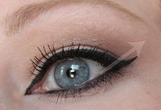 New rules for hooded eyes eyeliner