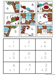 FREE Christmas Math Puzzles - Reveal the Mystery Pictures! - - FREE Christmas Math Puzzles - Reveal the Mystery Pictures! Christmas Puzzle, Christmas Math, Christmas Ideas, 1st Grade Math, Kindergarten Math, Preschool Teachers, Math Games, Math Activities, Christmas Worksheets