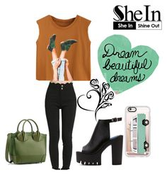"""""""Untitled #51"""" by belen-lillo on Polyvore featuring Green Leaf Art, Casetify and Christian Louboutin"""