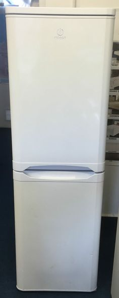 Slimline Fridge Freezer Indesit Model CA55 Fridge-Freezer A+ Energy Rating