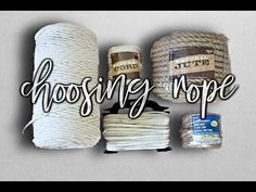 Beginner's Guide: Choosing Macrame Cord - Free Online Videos Best Movies TV shows - Faceclips Macrame Curtain, Macrame Cord, Macrame Earrings, Macrame Bag, Macrame Knots, Micro Macrame, How To Do Macrame, Second Day Hairstyles, Diy Crafts To Do