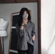 Ulzzang fashion, fashion outfits и korea fashion. Korean Fashion Trends, Korea Fashion, Asian Fashion, Girl Fashion, Simple Outfits, Trendy Outfits, Girl Outfits, Cute Outfits, Fashion Outfits