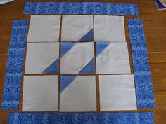 "Third Girl From the Right: Star of David Quilt Instructions makes an 18"" block --> challah cover?"