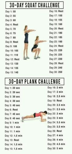 Squat challenge 604397212466642558 - Fitness Motivation : Squat and Plank 30 Day Challenge Source by Karraulyne Fitness Workouts, Training Fitness, Butt Workout, Fitness Diet, At Home Workouts, Fitness Motivation, Health Fitness, Workout Routines, Weight Training