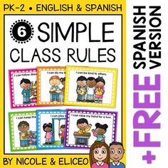 "Help establish your classroom rules with these simple, kid-friendly, and visually supported posters. It includes a set of color posters and matching coloring sheets. Young learners will love coloring the rules as you review the ""I can..."" statements together as a class. VIDEO PREVIEW: To preview all of the pages, hover over the video with your cursor, click on the diagonal arrows under the video for ""full-screen"" mode and then click play."