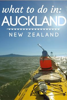 What to do in Auckland, New Zealand - try kayaking in Auckland, out to Rangitoto Island. Such a great Auckland day trip for adventurous travelers.