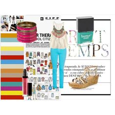 Summer Afternoon, created by everyoneisbeautiful15 on Polyvore