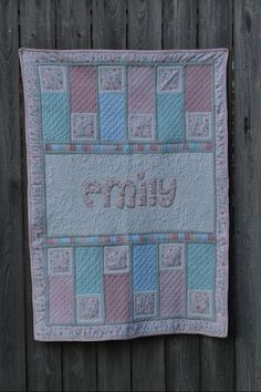 Looking for quilting project inspiration? Check out Emily's Baby Quilt by member conies. Quilting Big Projects on a Small Machine on Craftsy