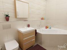 Kúpeľňa s rohovou vaňou