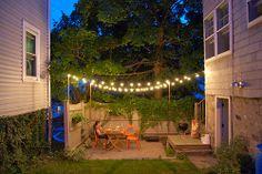 Small outdoor patio idea