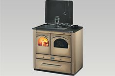 Wood Kitchens | Sideros: stufe a pellet, stufe a legna