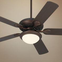 """52"""" Casa Vieja® Tempra Oil Rubbed Bronze Ceiling Fan 99.95 (2-3 for lower floor rooms) NO REMOTE 3 speeds"""