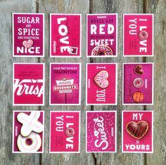 Krispy Kreme Valentine's Day promotion  2014 by Jordan Gray, via Behance