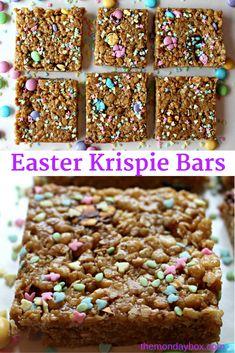 Easter Krispie Bars