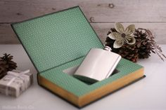 Hollow Book Safe  Leaves of Grass  Walt Whitman by HollowBookCo, $65.00